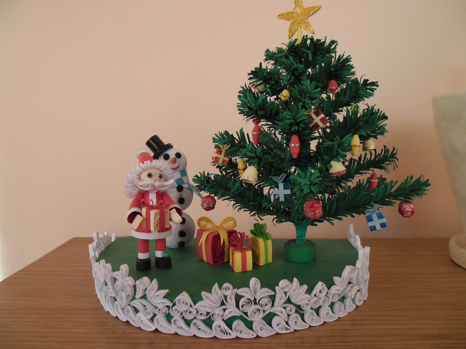 Quilling My Passion Christmas Tree