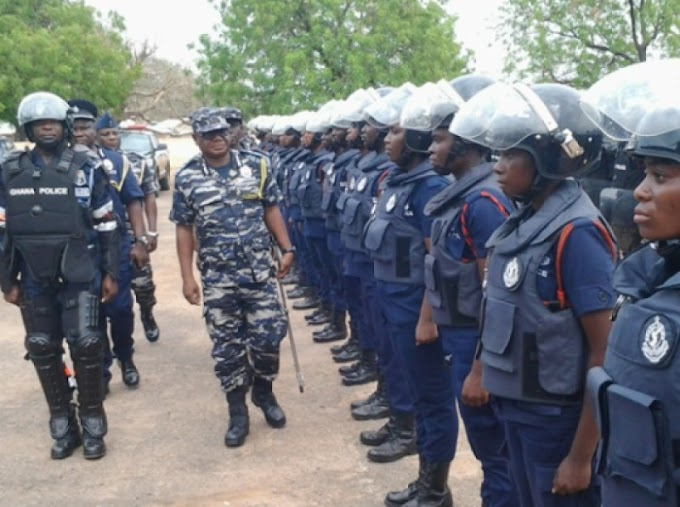 Presidential candidates get 60 Police guards