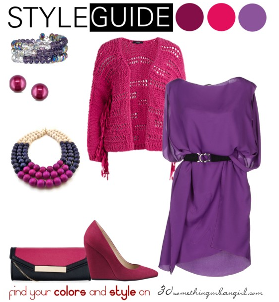 bold and exciting spring outfit idea for Deep Winter