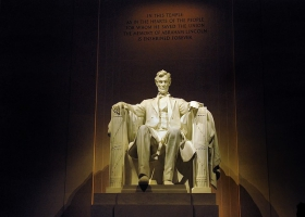 Lincoln memorial Washington DC.