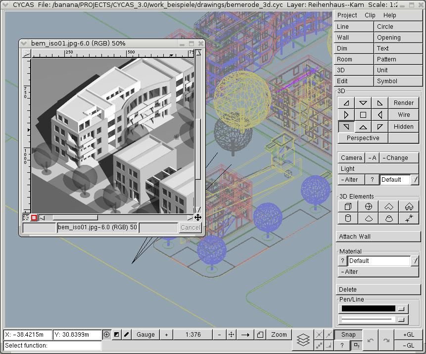 8 best cad apps for linux updated for 2d architectural drawing software free