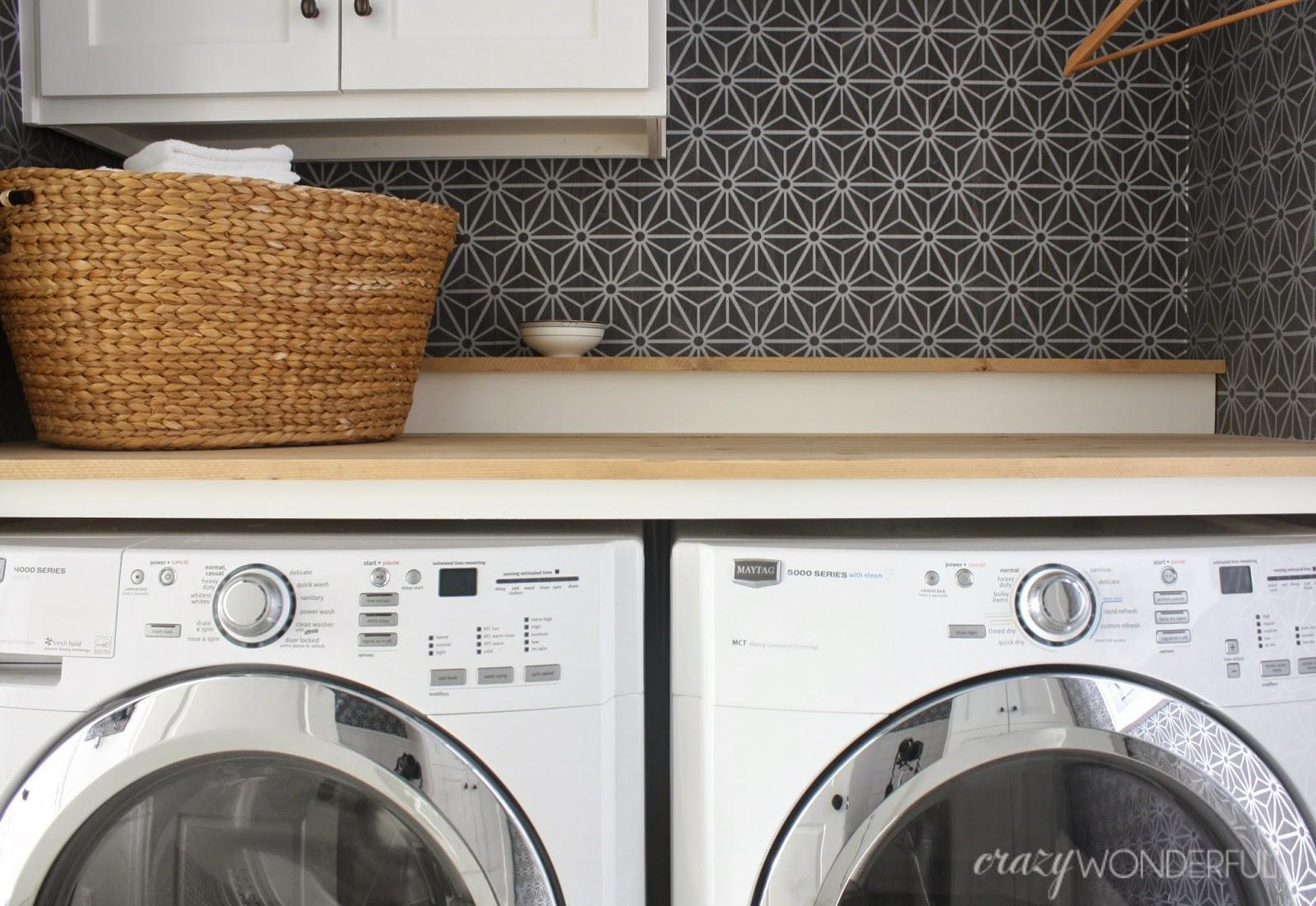 Laundry Room Reveal Crazy Wonderful