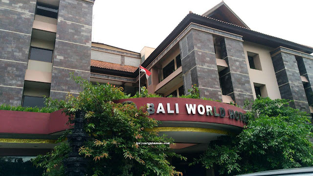 Review Hotel Bali World Bandung Keluarga Hamsa