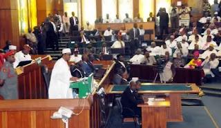 (Photo news)Buhari presents N6.08trn 2016 budget to NASS