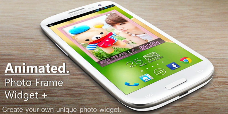 Animated Photo Widget