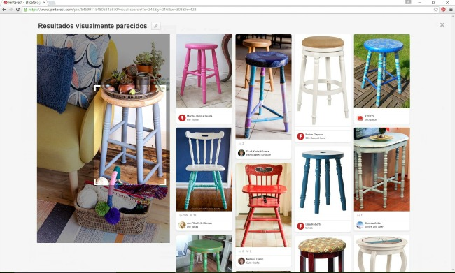 Pines relacionados a una búsqueda visual en Pinterest. En bizcochosysancochos.com