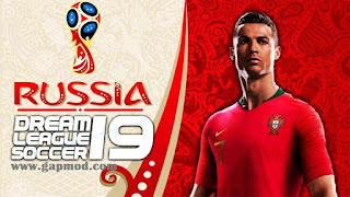 DLS 19 Mod World Cup Russia 2018 Offline 300 MB for Android