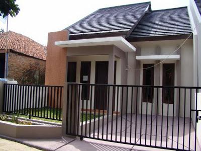 teras rumah minimalis modern type 36