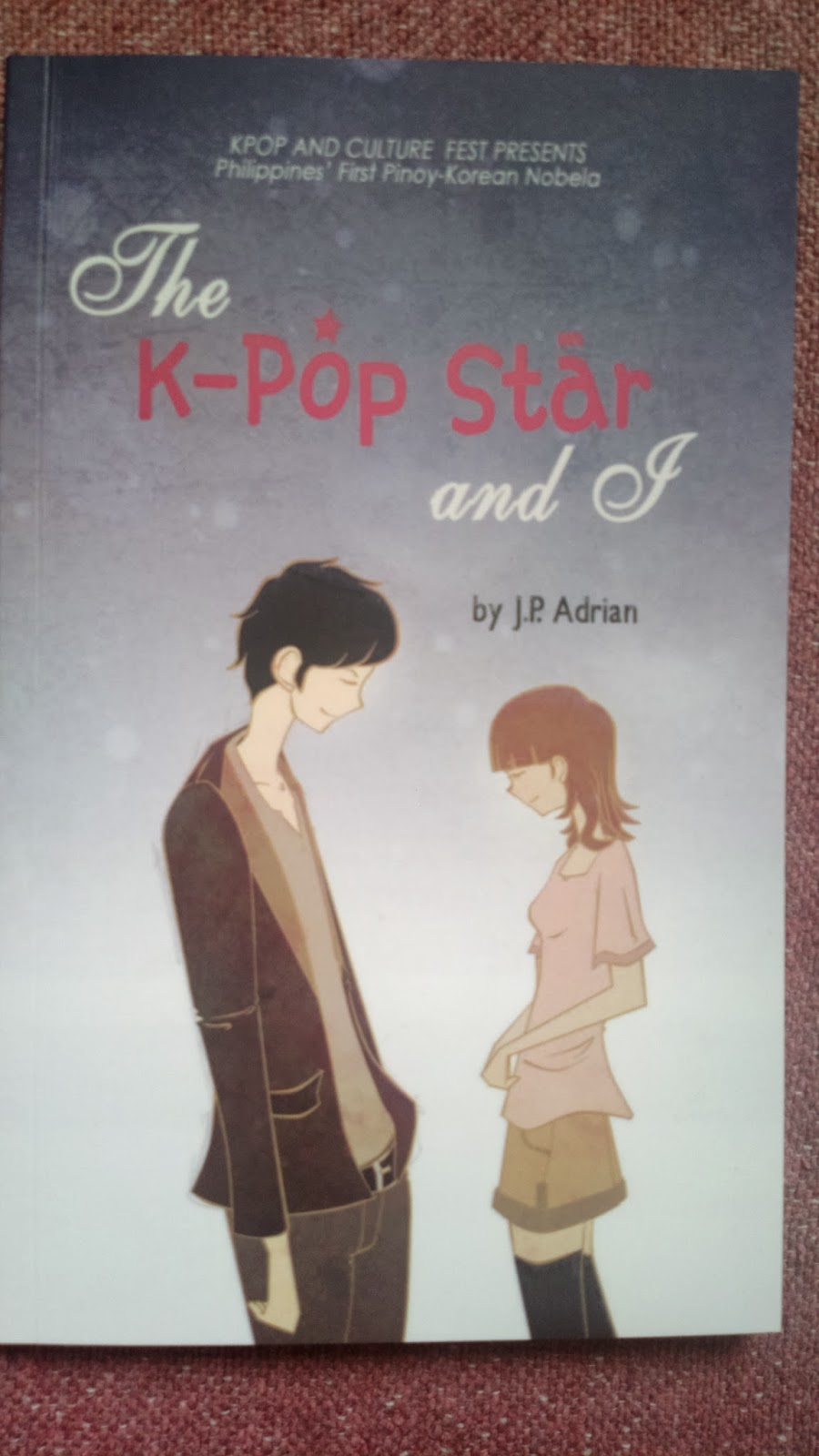 the kpop star and i book