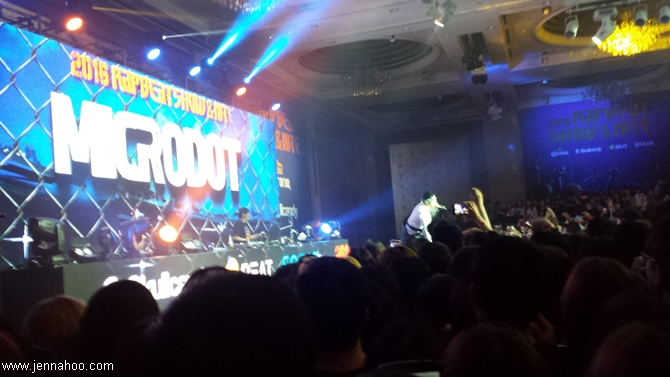 Microdot at Rapbeat Show 2016