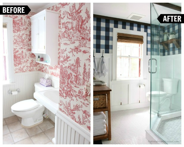 That's My Letter: Master Bathroom Renovation