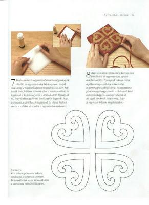 aplicação de coração - patchwork