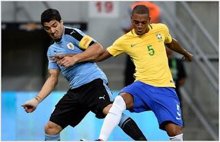 Uruguay vs Brasil en Eliminatorias Sudamericanas hacia el Mundial Rusia 2018