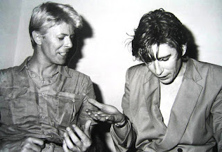 David Bowie et Richard Butler