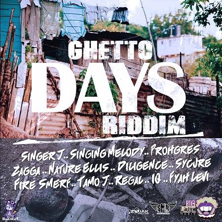 GHETTO DAYS RIDDIM [FULL PROMO] – BIG LAUGH MUSIC & SASAINE MUSIC