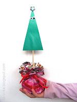 Как сделать новогоднюю елочку из бумаги мастер-класс