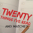 Twenty Things I've Read And Watched 2018 Week 1