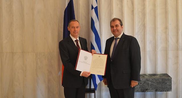 Ο Κωνσταντίνος Δέδες επίτιμος Πρόξενος της Ρωσίας στο Ναύπλιο
