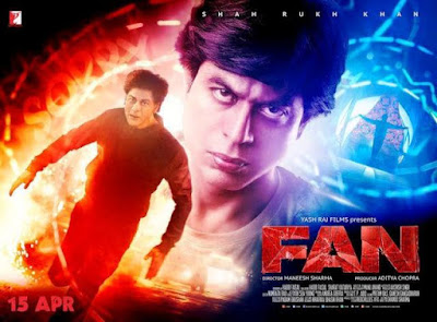 Fan (2016) Official Poster Shah Rukh Khan