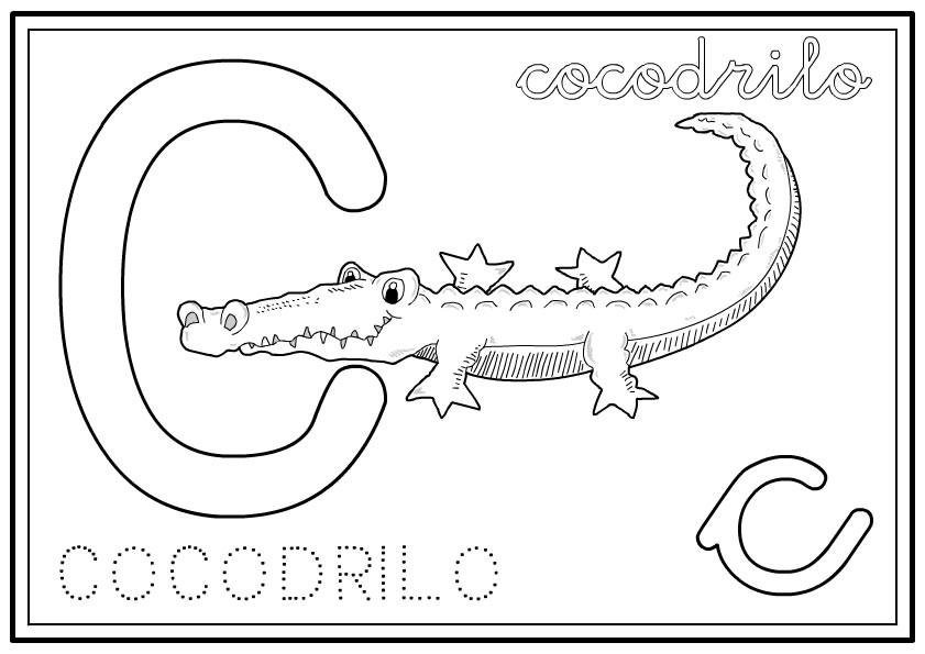 Encantador Libros Para Colorear Abc Motivo - Páginas Para Colorear ...