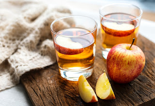 apple cider vinegar are good to drink while on the process of dieting
