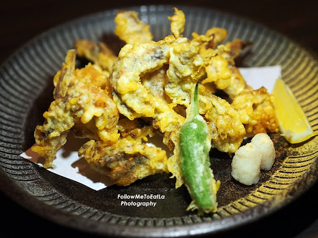 Soft Shell Crab Tempura RM 45