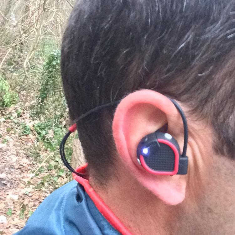 Bruno Poulenard Ecouteurs Sports Sans Fil Onear Bluetooth By Geonaute