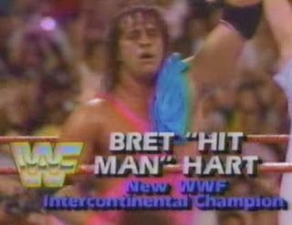 WWF / WWE: Summerslam 1991 - Bret Hart defeated Mr. Perfect for the Intercontinental title