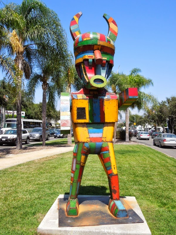 Pretty Boy sculpture David Buckingham West Hollywood