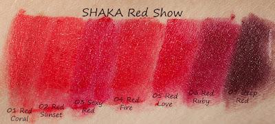Shaka Red Show rossetti