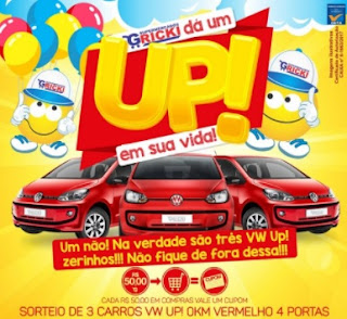 Promoção Gricki Supermercados 2017 2018 Dá Um Up Em Dua Vida Carros Zero