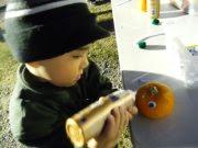 Pumpkin decorating for kids
