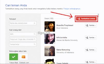 Berbagi tentang tips menambahkan lingkaran pertemanan google + melalui metode 1 klik = 100 teman,lakukan hingga 500 pertemanan.