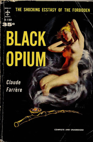 Robert Maguire - Black Opium, paperback cover