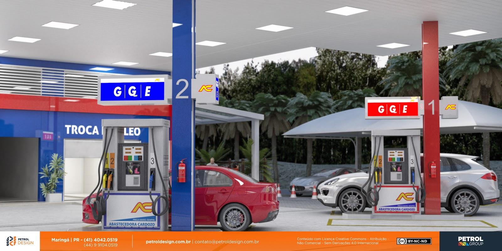 e9fab1c57 fachada comunicação visual posto de gasolina Rio Grande - RS