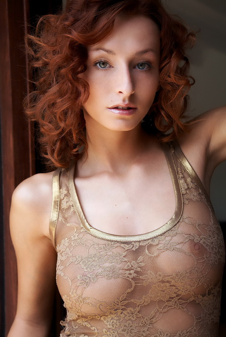 Smokin Hot Redhead Wearing See Through Videos