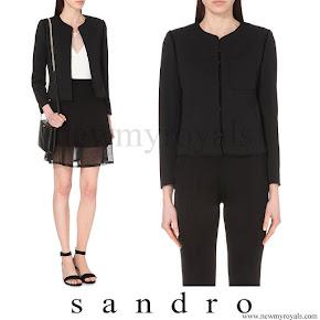 Countess of Wessex wore SANDRO Valina Jacket