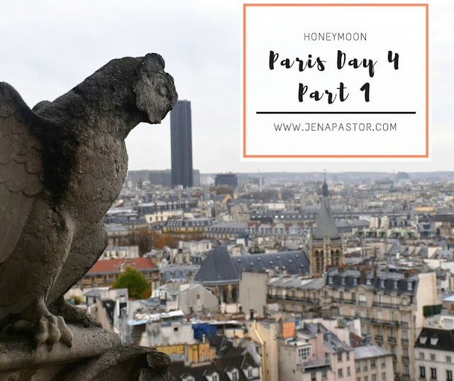 chimera above paris skyline
