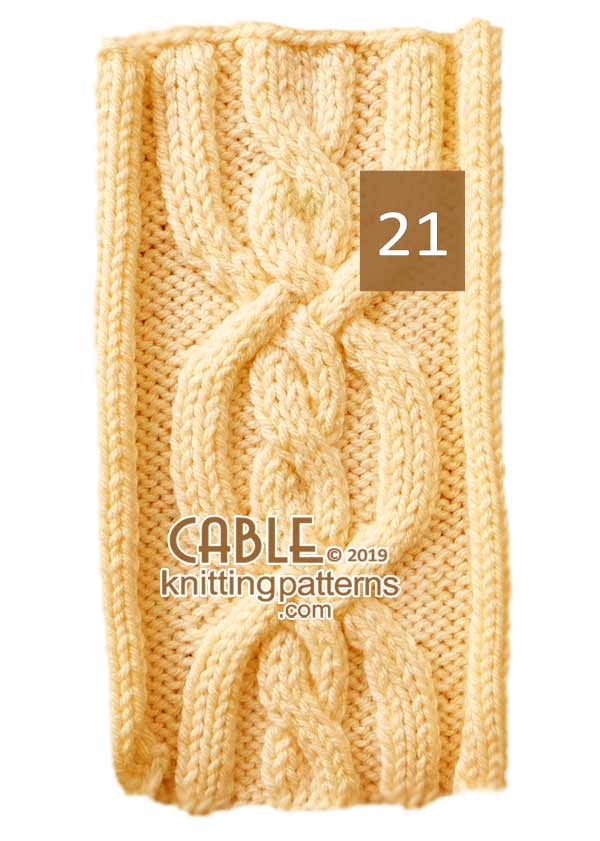 Cable Knitting Pattern 21