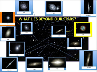 Image of Display of Galaxies Imaged by PCIS Students