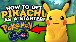 Cara Tips Mendapatkan Pikachu di Game Pokemon Go