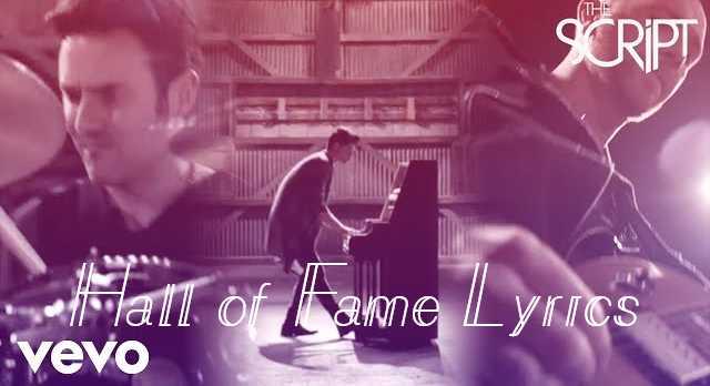 Hall of Fame Lyrics - The Script | LyricsBowl