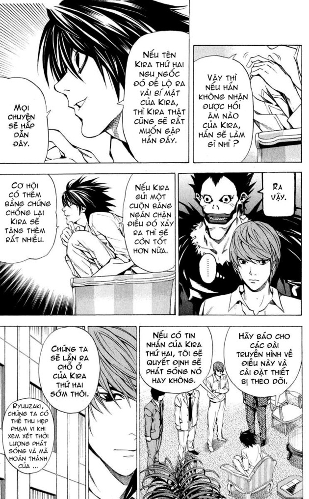 Death Note chapter 027 trang 8