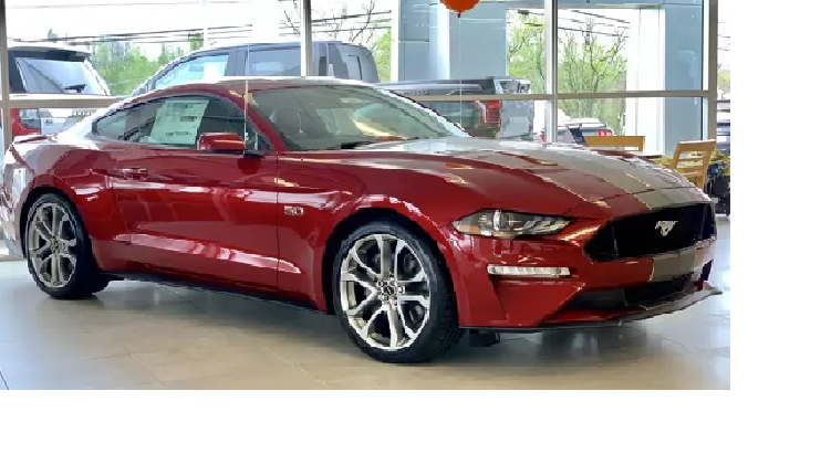 A short description of the Ford Mustang 2019