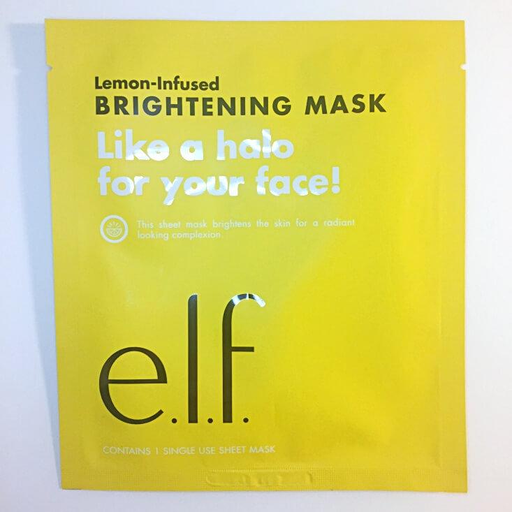 e.l.f. Lemon-Infused Mask