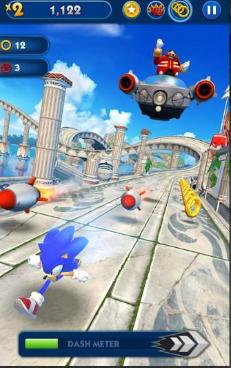 Download Game Lari Larian Sonic Dash Apk