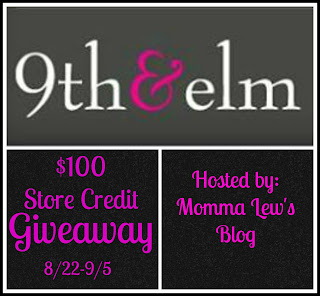 Enter to win a $100 store credit to 9th and Elm. Ends 9/5.