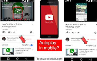 youtube autoplay in mobile