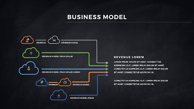 Infographic Business Model Presentation for PowerPoint Template Slide 6