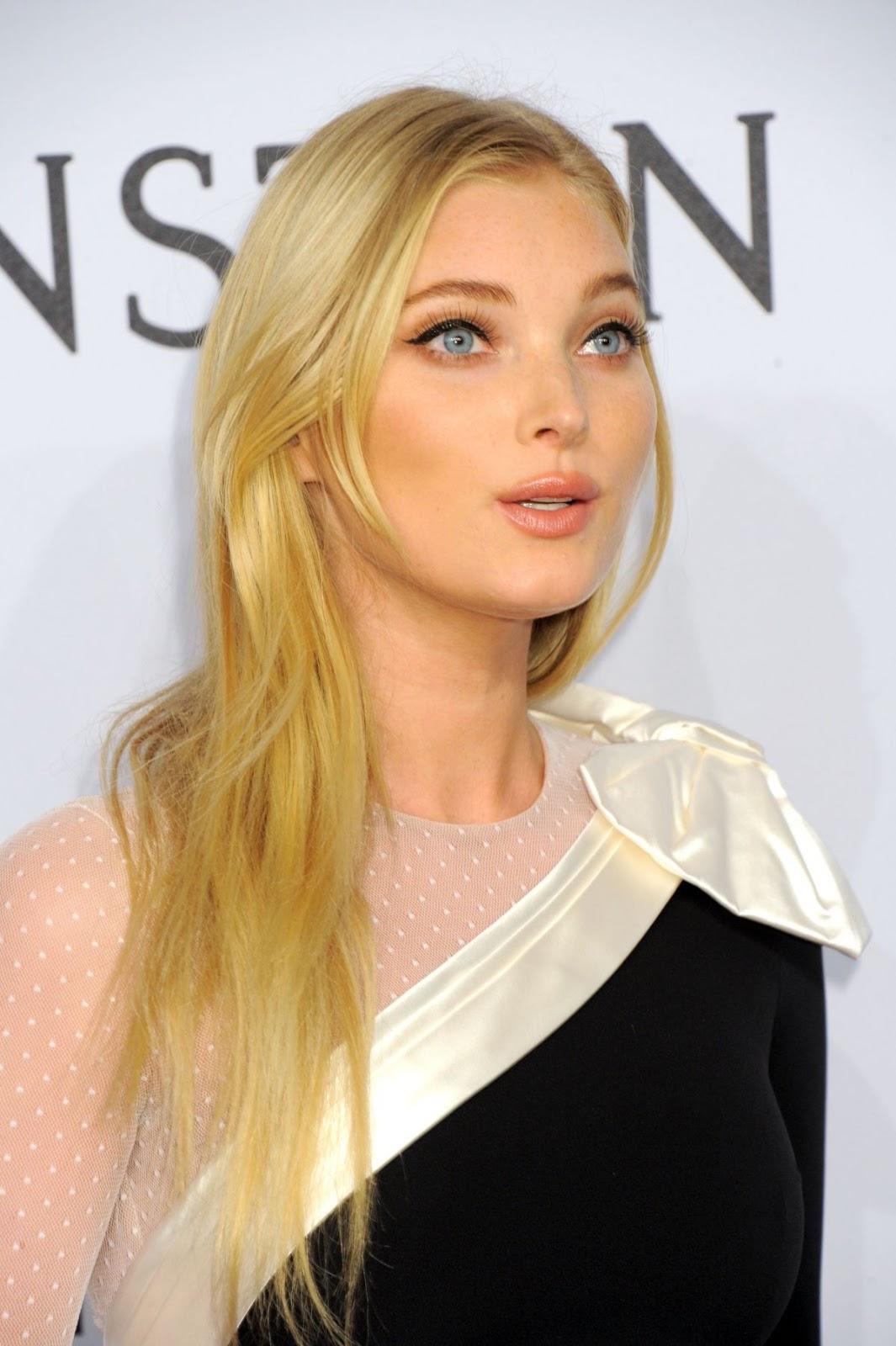 Victoria's Secret Supermodel Elsa Hosk at 2016 amfAR New York Gala